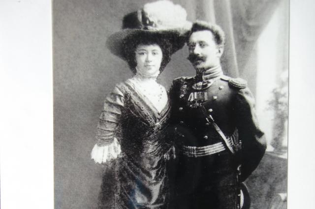 Ольга Федоровна и Константин Николаевич Лоренц. Ок. 1910 г.