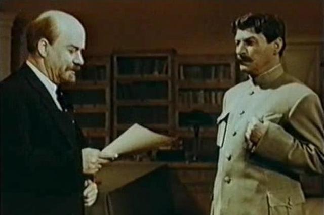 Михаил Геловани в фильме «Незабываемый 1919год»
