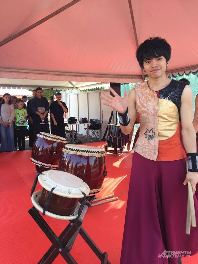 Мастер-класс по барабанам.