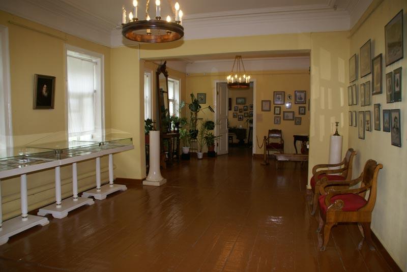 Литературная часть дома-музея С.Т. Аксакова.