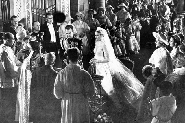 Свадьба Грейс Келли и Ренье III.