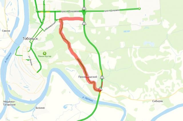 Трассу Тюмень – Тобольск – Ханты-Мансийск временно перекроют.