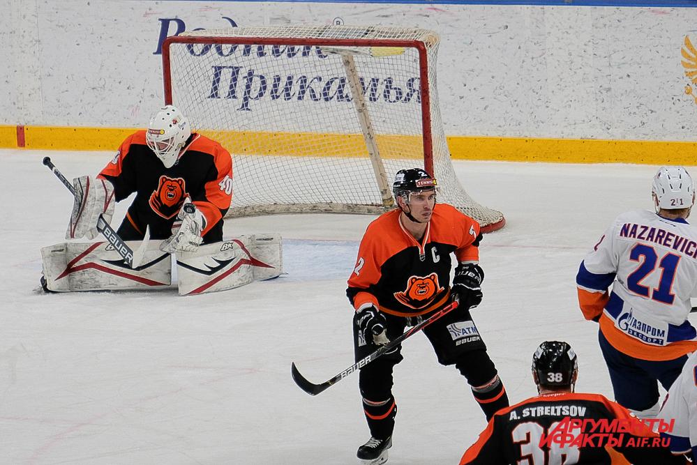 Домашний матч «Молот-Прикамье» - «СКА-Нева» в Перми