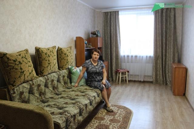 Жильцов переселяют в новые благоустроенные квартиры с чистовой отделкой.