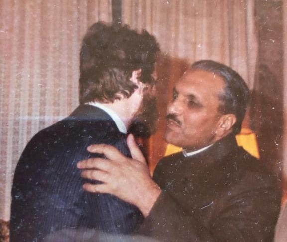Рами Аль-Шаер и Мухаммед Зия-уль-Хак.