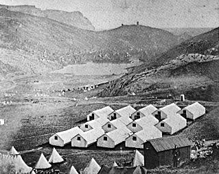 Военный лагерь около Балаклавы