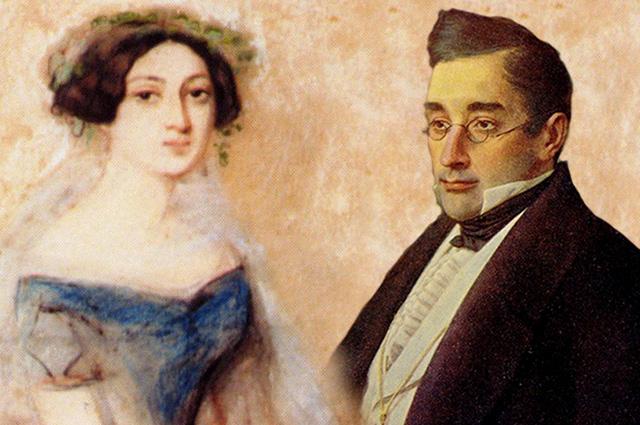 Нина Чавчавадзе и Александр Грибоедов