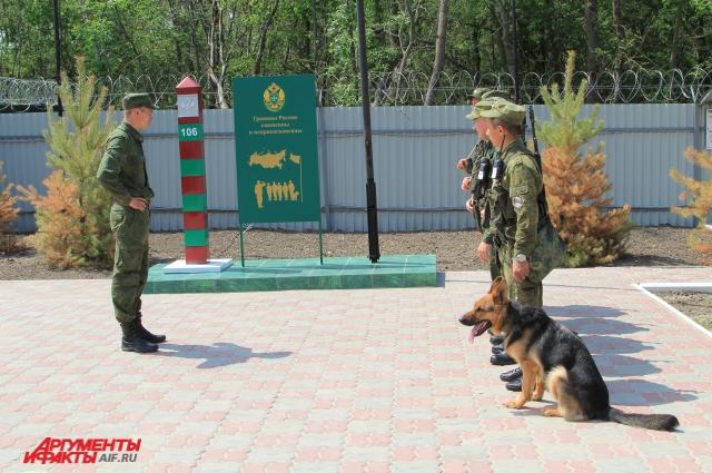 Пограничное отделение в поселке Приазовский — новая застава в России.