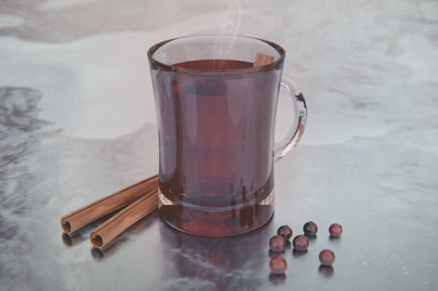 Если в ыне переносите алкоголь - замените вино вишневым соком.