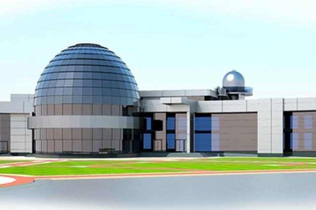 проект планетария в парке А. Г. Николаева