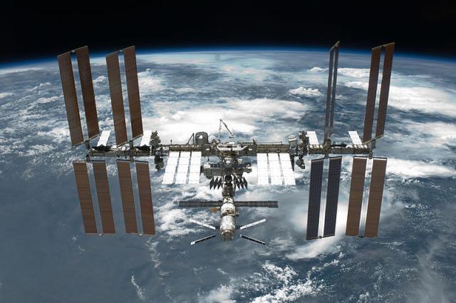 Веб-камеры есть даже в космосе.