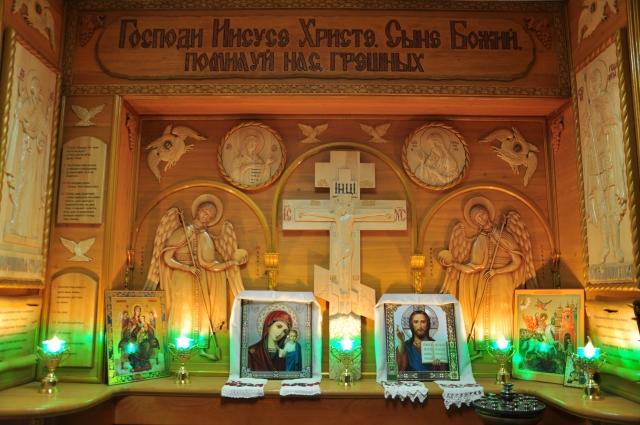 В музее есть молельная комната в память о погибших.