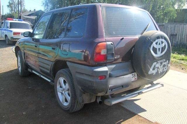 Автомобиль обвиняемого в смертельном ДТП.