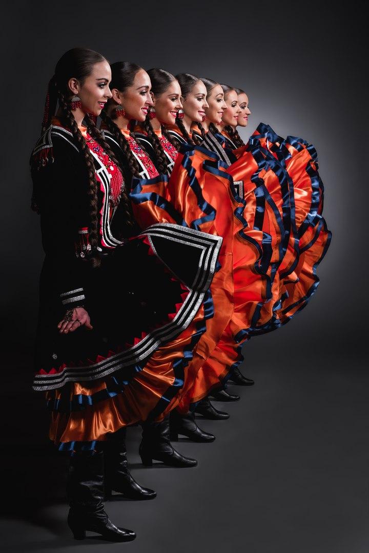 Танец семь девушек
