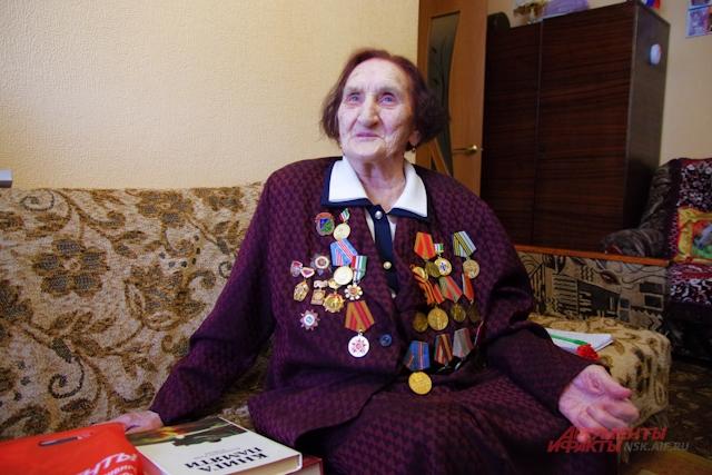 Ольга Гривастова испытала все ужасы войны.