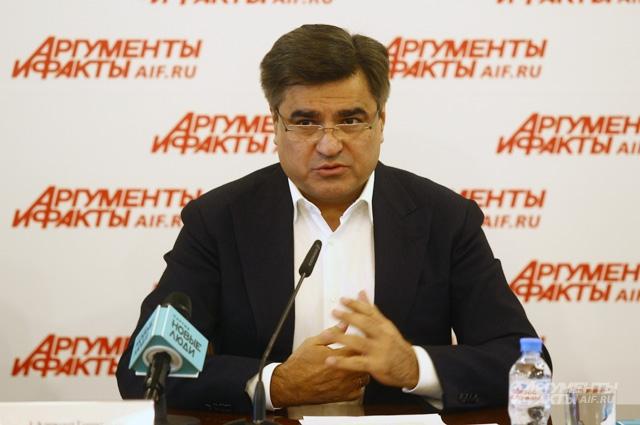 Председатель партии «Новые люди» Алексей Нечаев