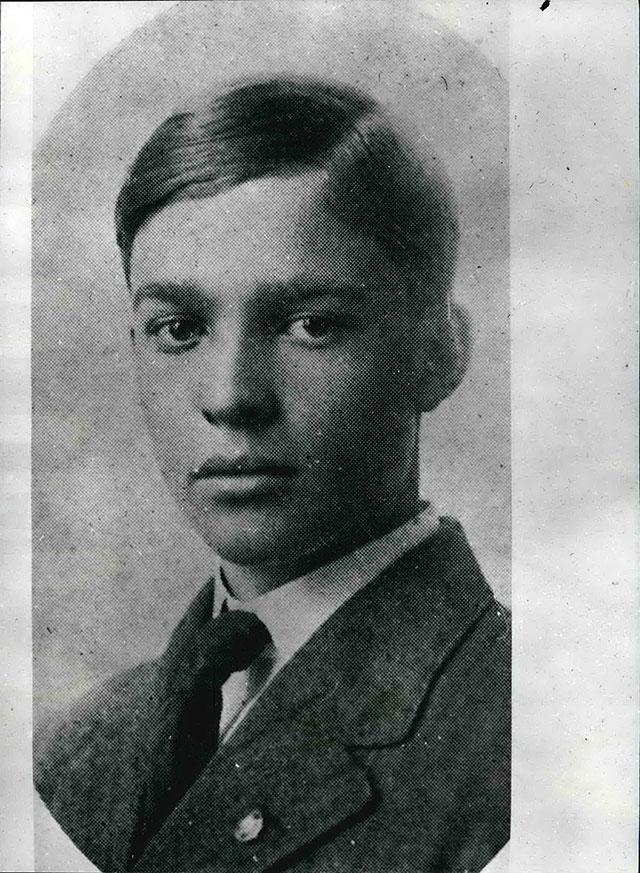 Молодой Эйзенхауэр, 1900 г.