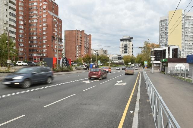 Так выглядит улица Николая Островского после ремонта в этом году.