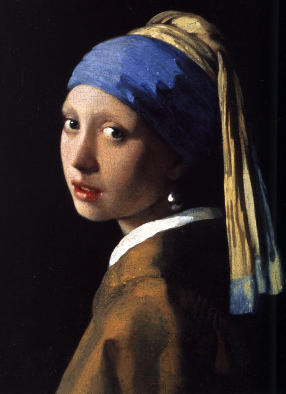 Картина Яна Вермеера «Девушка с жемчужной серёжкой», около 1665 года.