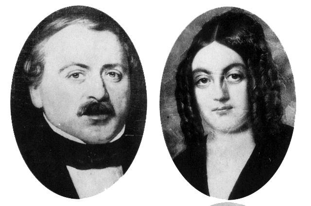 Франсуа и Эмели Золя, родители писателя