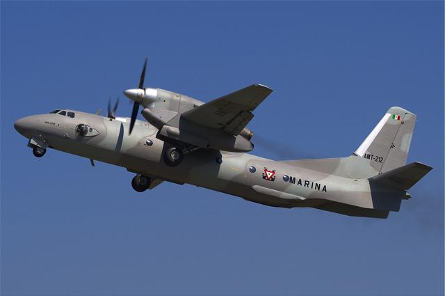 Ан-32 ВВС Мексики, 2009 год