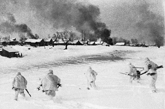 Контрнаступление советских войск в битве под Москвой