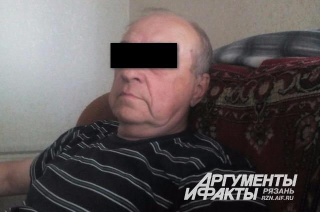 Подозреваемый в педофилии 69-летний пенсионер, ветеран боевых действий в Афганистане.