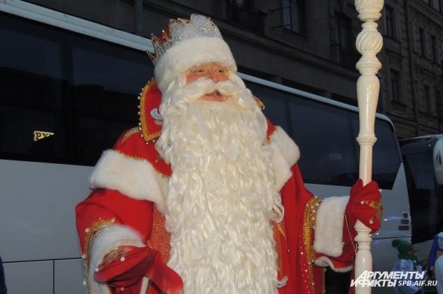 За неделю до Нового года в Петербург приедет Дед Мороз из Великого Устюга.