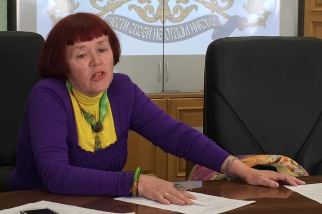 Тамара Шулакова.