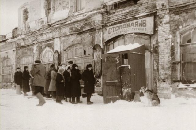 Москву снимали в Ленинграде.