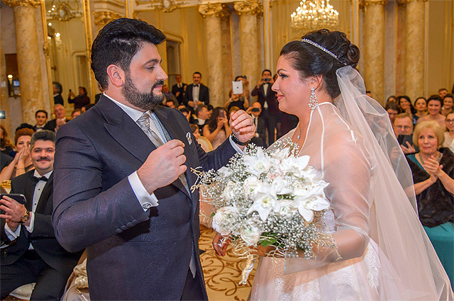 Свадьба Анны Нетребко и Юсифа Эйвазова
