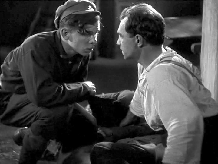 Кадр из фильма «Чапаев», 1934 г.