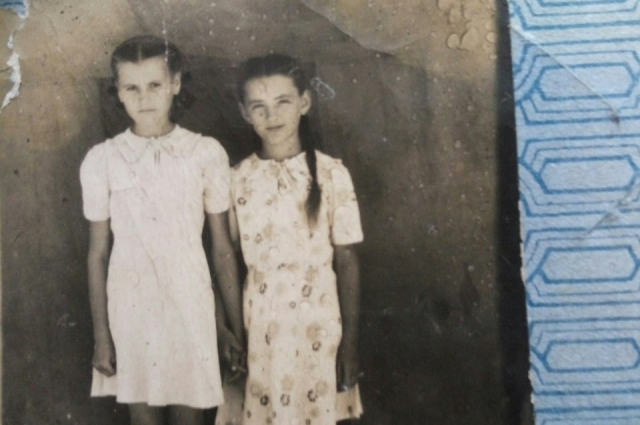 Кате было 7 лет, когда началась война