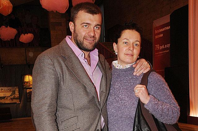 Михаил Пореченков с супругой, 2009 год