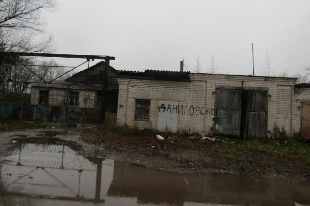 Одна из хозяйственных построек некогда процветающего колхоза.