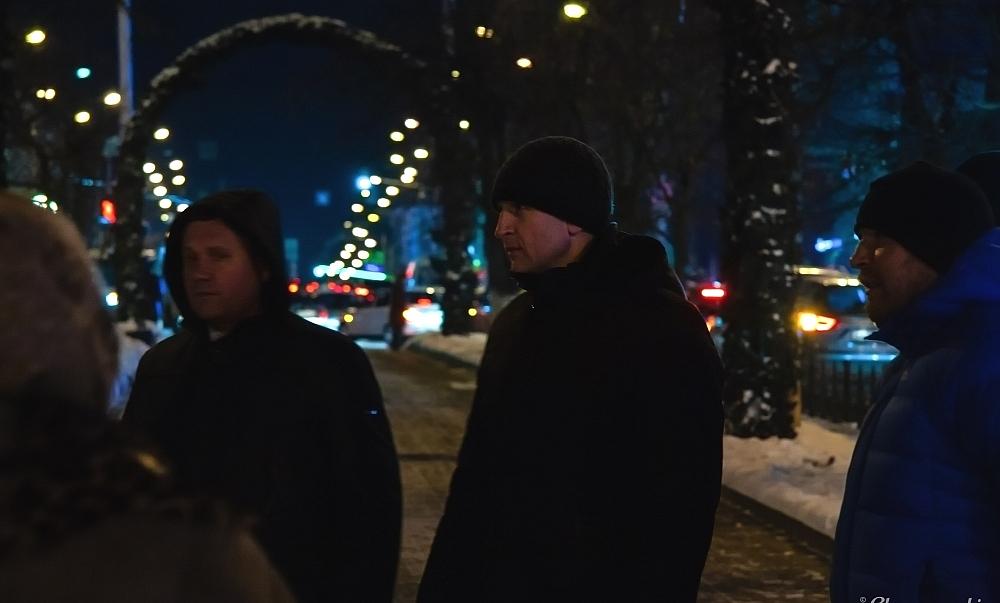 Дмитрий Разумовский высказал свои пожелания по оформлению пешеходной части на Кирова.