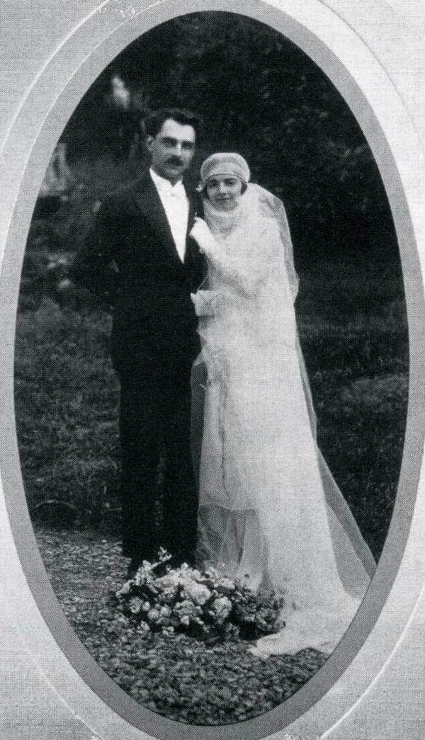 Марсель Петио с женой, 1927 г.