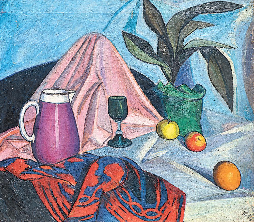 Роберт Фальк. «Натюрморт». 1910 г.