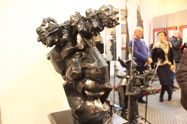 Автопортрет скульптора Капралова.