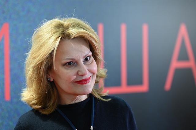 Телеведущая Елена Старостина.