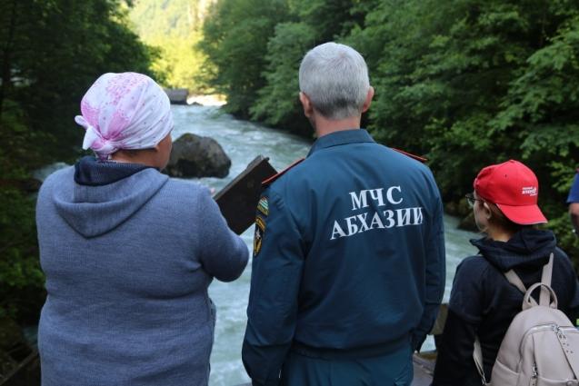 Родные приехали в Абхазию