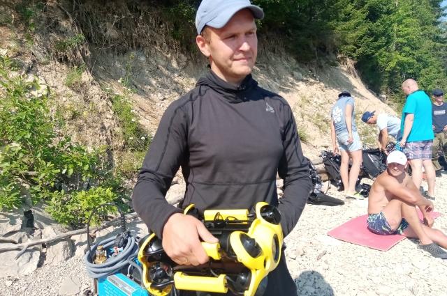 Подводный дрон можно использовать и летом, и зимой.