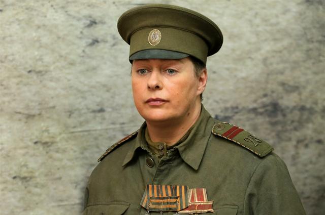 Мария Аронова в фильме Батальонъ