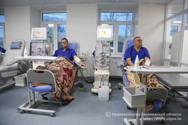 Первые пациенты.