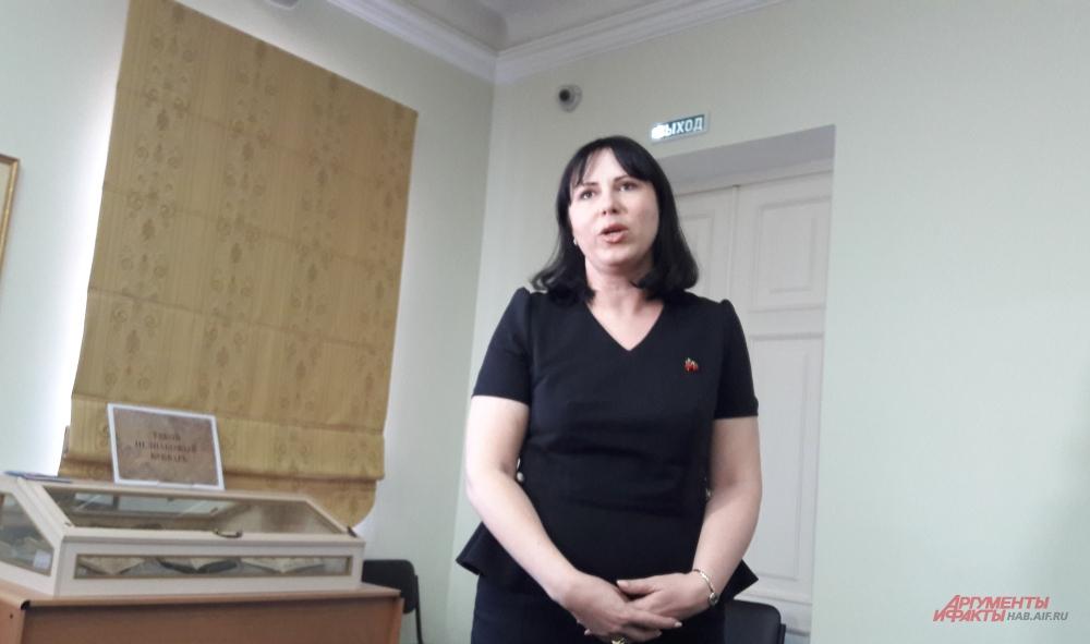 Татьяна Якуба, генеральный директор научной библиотеки