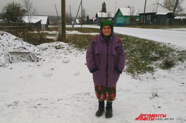 85-летней Хамайре некогда скучать в родной деревне.