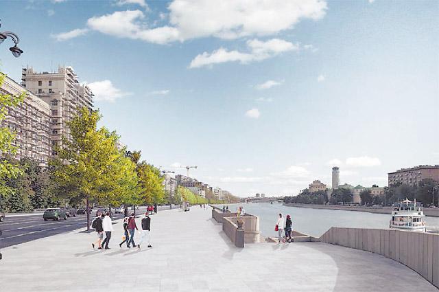 Власти уверяют: на Гончарной набережной будет удобно и пешеходам, и автомобилистам.