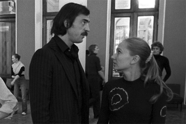 Михаил Боярский и Лариса Луппиан. 1983 г.