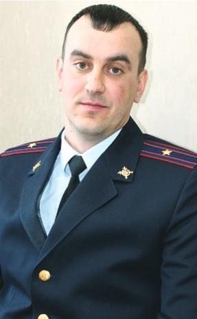Майор полиции Антон Малышев