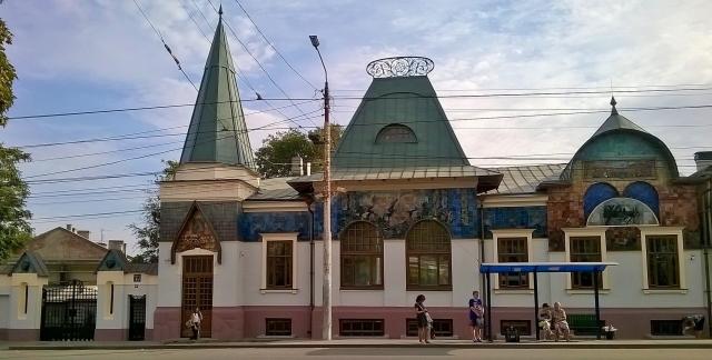 Музей градостроительства и быта в Таганроге - полная копия Ярославского вокзала